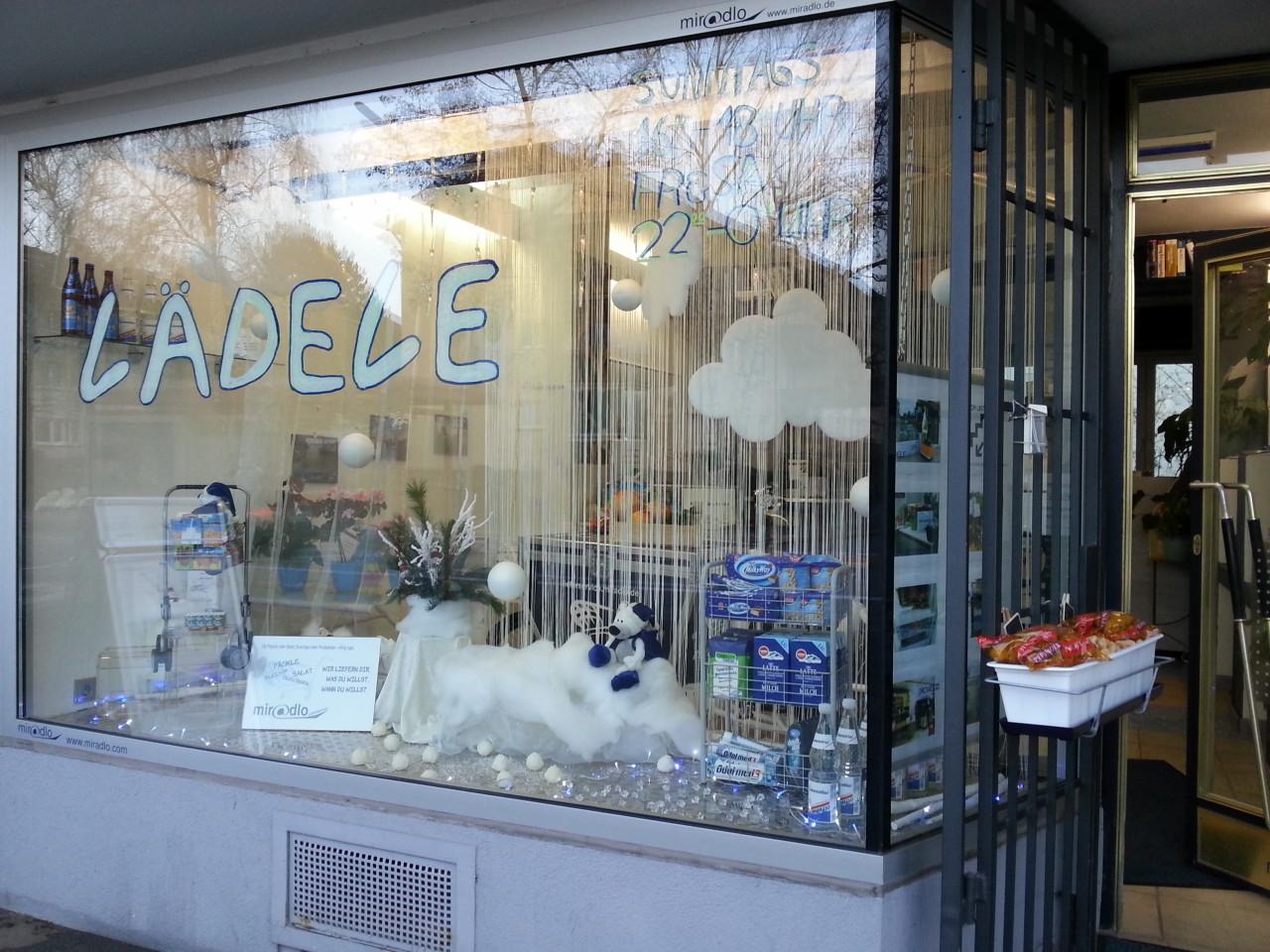 Winter im miradlo schaufenster lieferadressen tipps for Schaufenster dekorieren