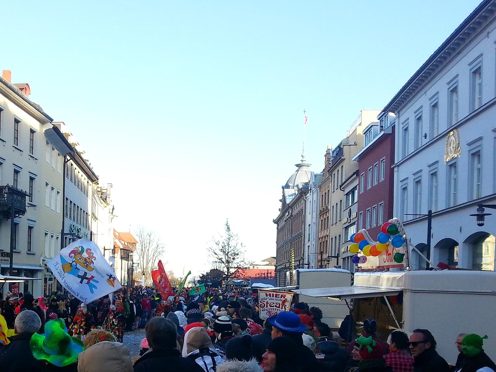 Fasnet In Konstanz Und Ffnungszeiten Zur Paketabholung