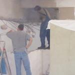Es fielen viele Wände und Aufbauten die bis zur Decke gingen, Umbau miradlo 2004