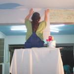 Hagrid, unser Tresor, als Sitzplatz für Deckenarbeiten während der Baustelle gut zu gebrauchen, miradlo 2004