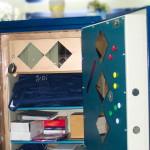 Hagrid, unser Tresor ist bei geöffneter Tür nach wie vor sehr erkennbar ein Tresor. Genutzt wird er vor allem als Schrank. miradlo 2006