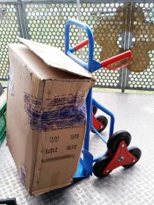 Treppensackkarre miradlo versanddepot - Transport erleichtern