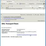 Screenshot Spam-Schadsoftware-E-Mail als HTML-Mail, aber ohne weitere Inhalte nachzuladen