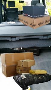 Pakete direkt in den Kofferraum liefern lassen, die Lieferadresse ist das eigene Auto, nicht irgendeine Packstation