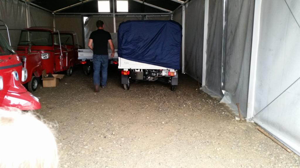 Apelina noch verpackt bei casa moto