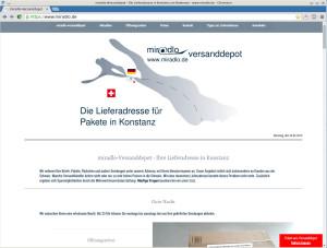 So muss unsere Seite aussehen, https://www.miradlo.de