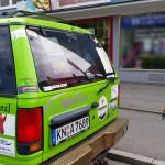 Team RallyeViators aus Konstanz bei der Allgäu-Orient-Rallye 2015 nach Amman, Jordanien