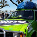 Start am 8.5. hier am Stadtgarten Konstanz- Team RallyeViators aus Konstanz bei der Allgäu-Orient-Rallye 2015 nach Amman, Jordanien