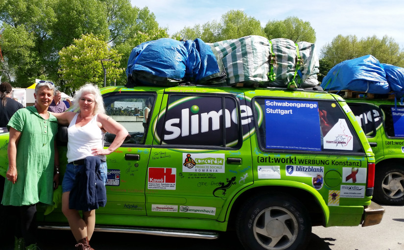 Allgäu-Orient-Rallye – Team aus Konstanz am Ziel in Amman, Jordanien