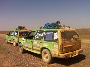 ...deshalb heißt es auch Wüstenrallye... - Team RallyeViators aus Konstanz bei der Allgäu-Orient-Rallye 2015 nach Amman, Jordanien