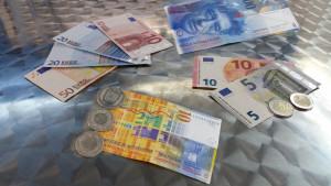 Euro, Schweizer Franken, Währung, Wechselkurs, € - CHF