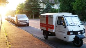 Apelina unserer deutschen Lieferadresse in Konstanz im Gegenlicht - miradlo versanddepot