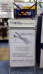 miradlo Versanddepot, jetzt mit integriertem Paketshop, um Pakete zu versenden in Konstanz