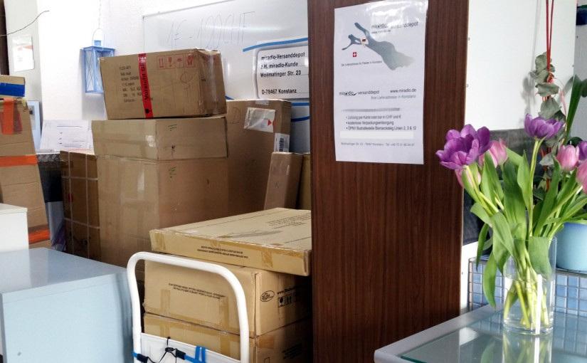 Zeitfenster von Paketdiensten