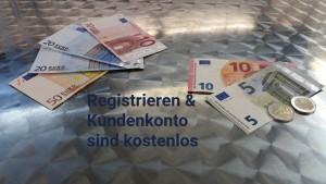 Gratis registrieren, Kundenkonto kostenlos - miradlo Versanddepot, Lieferadresse Konstanz