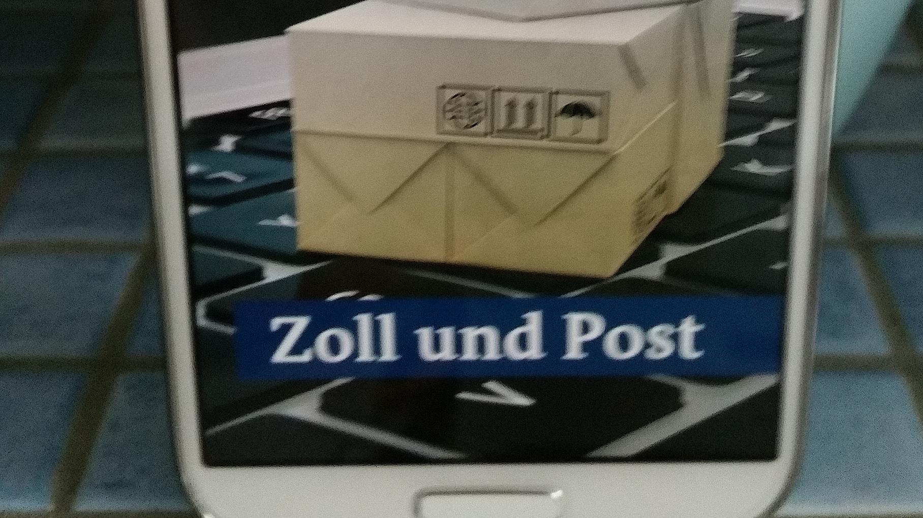 Start der App des deutschen Zolls um Gebühren zu kalkulieren, schnell, einfach, informativ, miradlo Versanddepot, Lieferadresse Konstanz