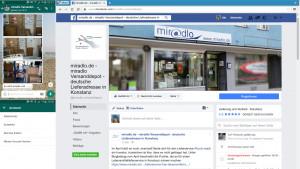 Whatsapp und Facebook - Daten nutzen - miradlo Versanddepot, Lieferadresse Konstanz