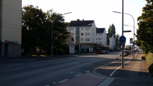 neue Haltestelle Bismarcksteig, stadtauswärts ab 12.9.2016, - Bushaltestellen verlegen in Konstanz