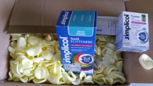 Verpackungswahnsinn - Pakete, Päckle, Päckli unsinnig verpackt, Beispiele von miradlo, der Lieferadresse in Konstanz