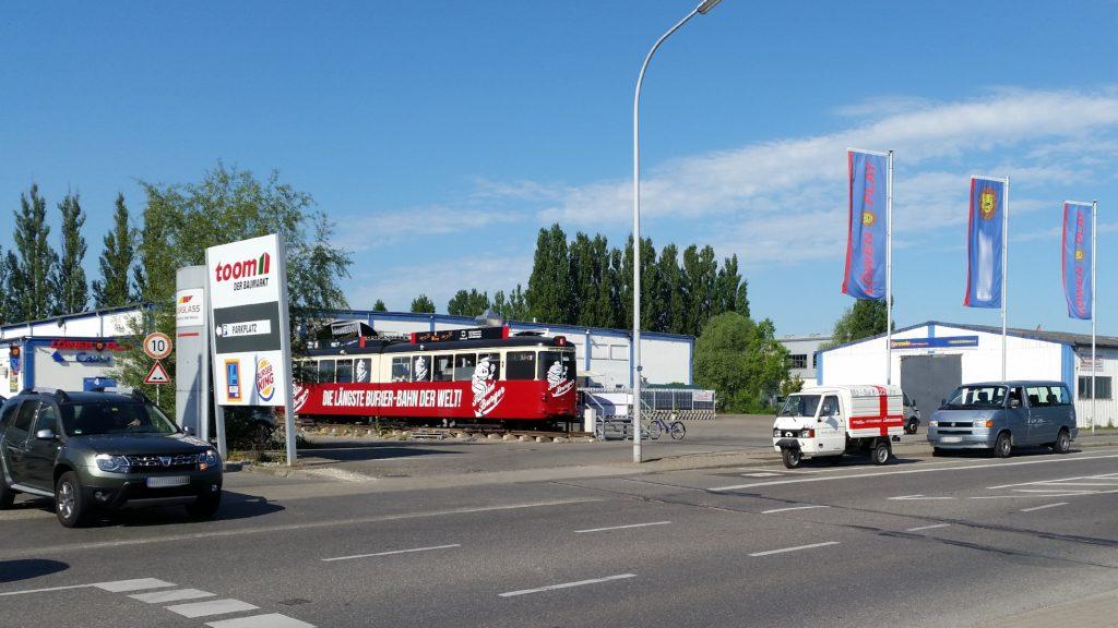Apelina als Einkaufsfahrzeug, Toom, Rollin Burger, carglass und Co in Konstanz - miradlo-Versanddepot, Lieferadresse