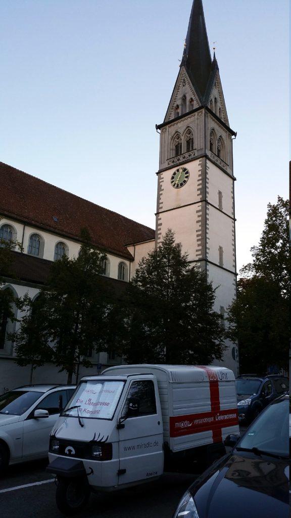 Apelina auf dem Stephansplatz in Konstanz - miradlo-Versanddepot