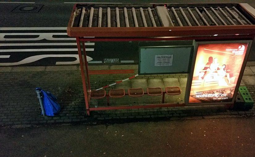Gute Nachricht zum neuen Jahr – Bushaltestelle Bismarcksteig bleibt doch