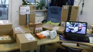 Pakete einlagern, miradlo-Versanddepot, Lieferadresse Konstanz