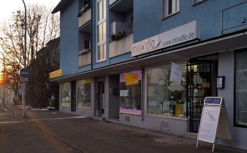 Je nach Jahreszeit öffnen wir bei Sonnenaufgang, miradlo Versanddepot, die Lieferadresse in Konstanz