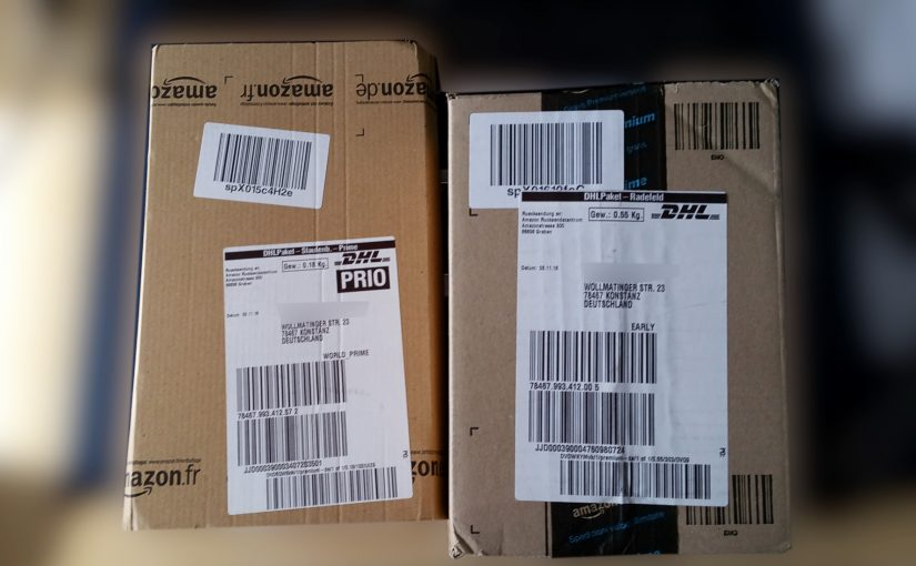 Mitbewerber für DHL, Hermes & Co? – Paketdienst von Amazon mit Paketstation