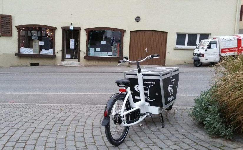 Paketdienste in Innenstädten – verschiedene Lösungen