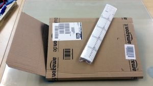 Kalenderverpackung so schlecht wie möglich... Verpackungswahnsinn, amazon - Fundstück im miradlo Versanddepot