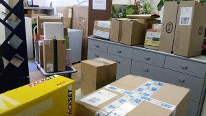 Pakete in allen möglichen Größen - miradlo Versanddepot