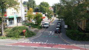 Baustelle auch vorm Penny gegenüber, daher parken am 1.9. tagsüber eingeschränkt wegen Baustelle vorm miradlo Versanddepot Konstanz
