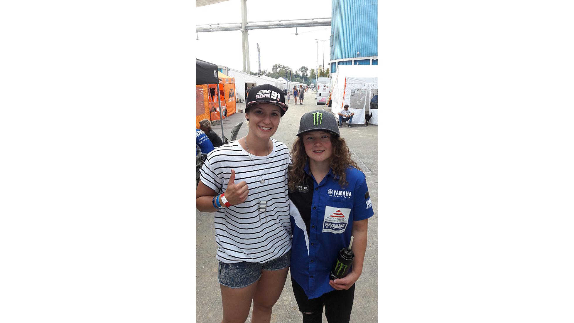 Meine Vorbilder Courtney Duncan - Nina Heimbüchel - Motocross-Adventskalender - miradlo Versanddepot