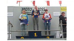 Treppchen für Nina Heimbüchel- Motocross-Adventskalender - miradlo Versanddepot
