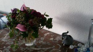 Blumen - Kaffeekassenvernichtungsfeier - Weihnachtsfeier - miradlo Versanddepot