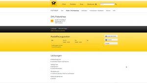 über die Details der DHL-Standortsuche gibt es weitere Infos zum Angebot eines Paketshops - miradlo-Versanddepot Konstanz