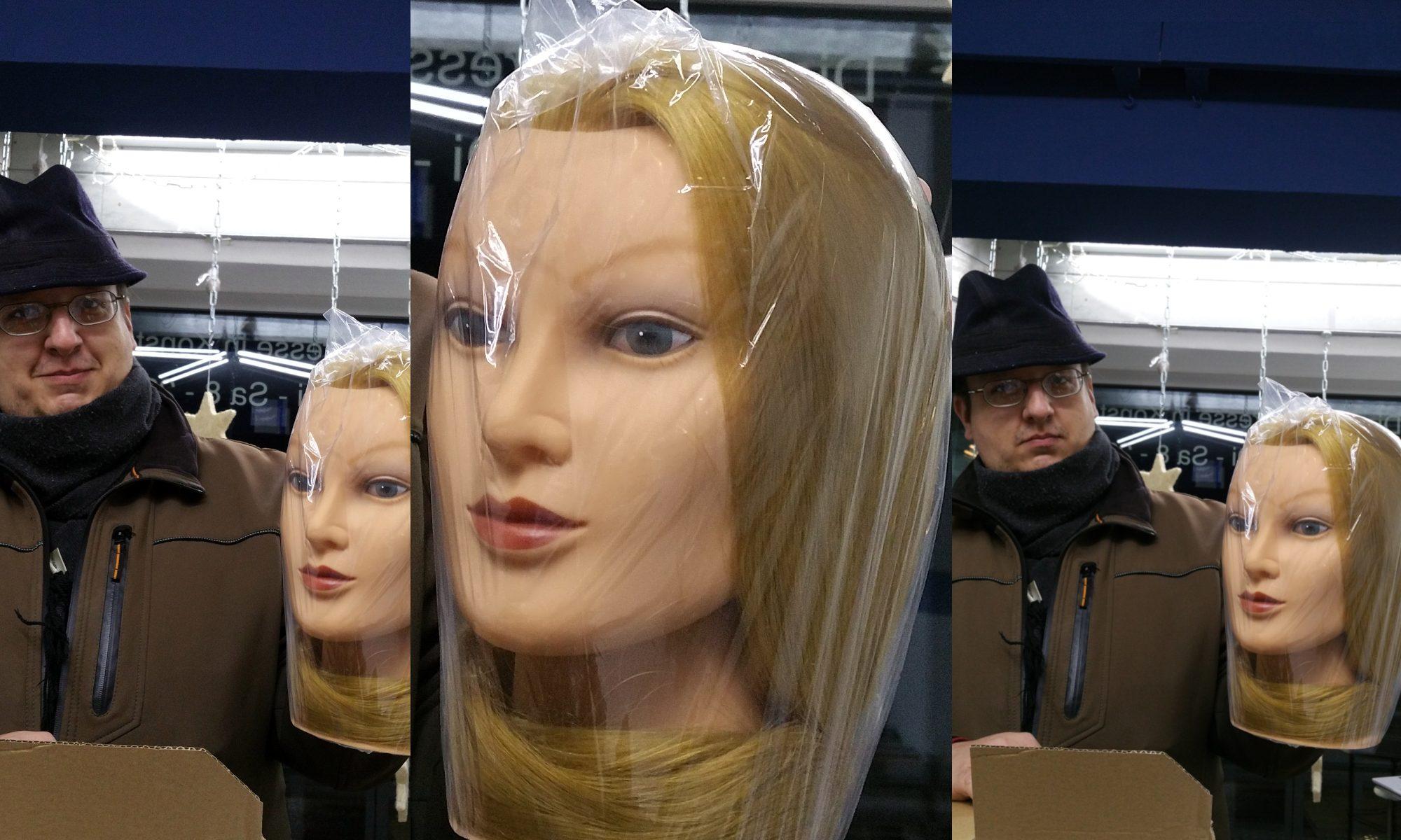 ...nur ein Kopf... Kopflos? Körperlos? Kunden und ihre Päckli - miradlo Versanddepot