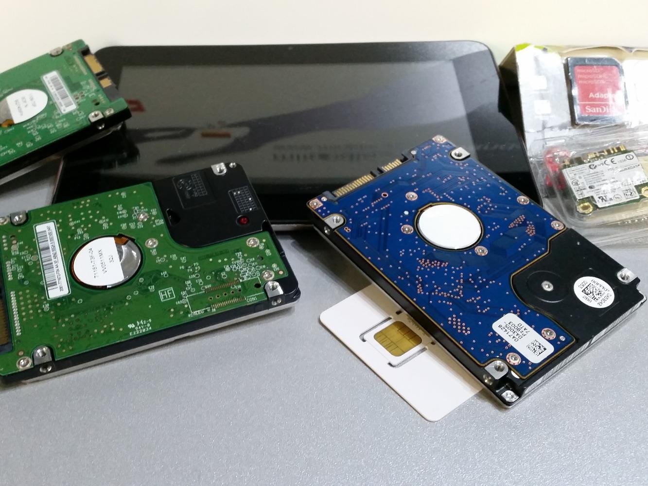Elektronik, Festplatten , Karten...