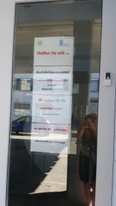 Grenze in Konstanz-Kreuzlingen und Ausfuhrhinweise des deutschen Zolls, kein Hinweis auf Lieferadressen