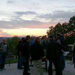 Sonnenuntergang beim Grillen - Apetreffen Eichhof, Herznach, AG
