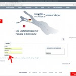 "miradlo.de-""Anmelden"" E-Mail und Passwort angeben - miradlo-Versanddepot Kunden werben Kunden - Lieferadresse Konstanz"