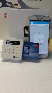 EC-Kartenzahlung - Elektronische Zahlung per Karte mit Vor- und Nachteilen des Anbieters Sumup beim miradlo-Versanddepot
