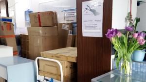 Päckle und Pakete im miradlo Versanddepot, der Lieferadresse in Konstanz