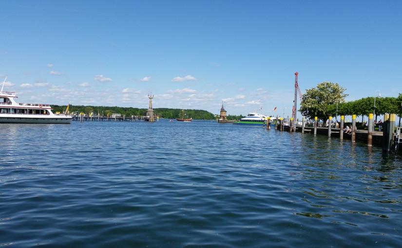 Hafen in Konstanz gegenüber der Zollübergabestelle - Lieferadresse Pakete miradlo Versanddepot