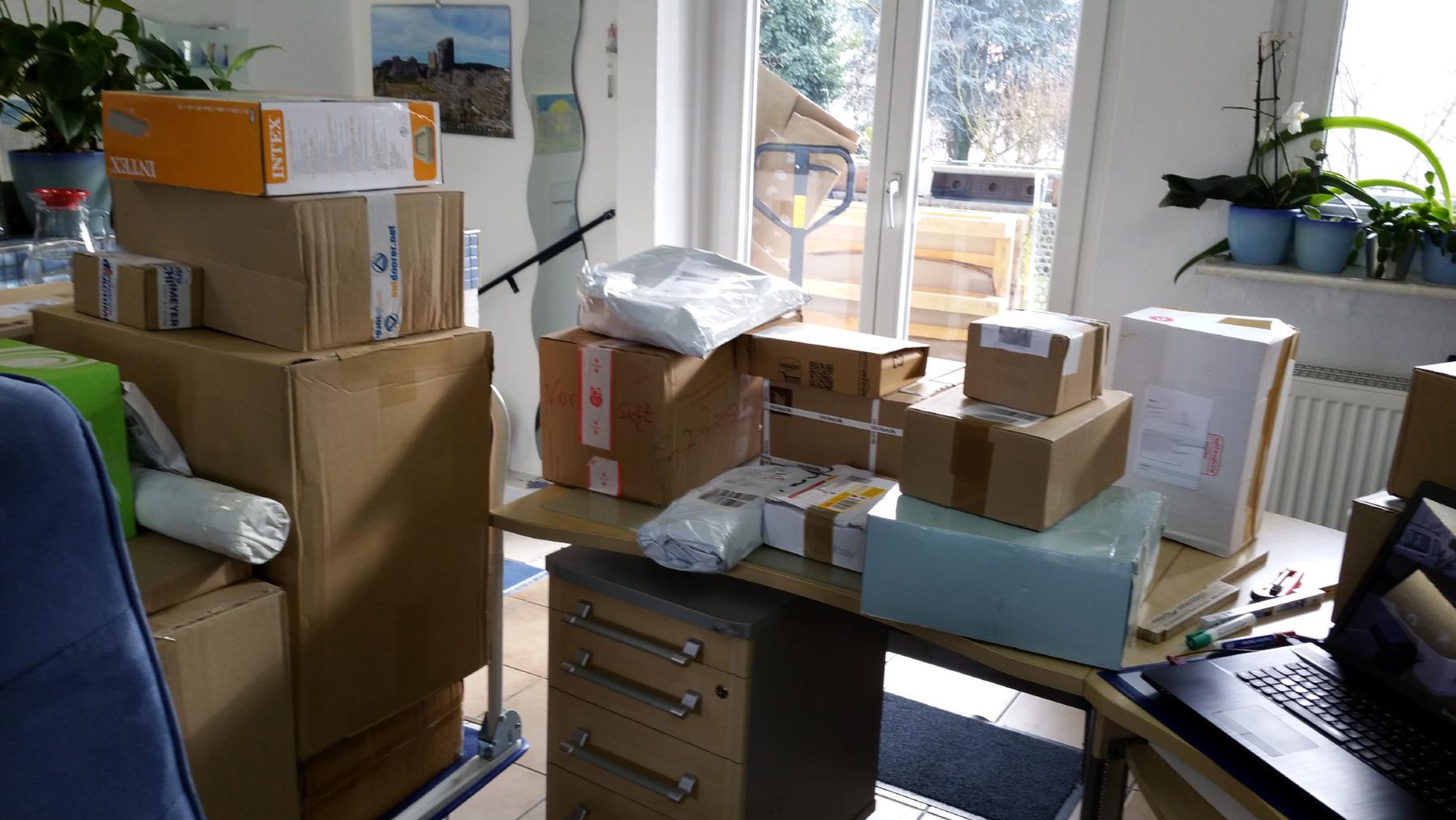 Postlizenz für Briefe bis 1000g, Pakete nur anzumelden - miradlo Versanddepot, Lieferadresse Konstanz und Randegg
