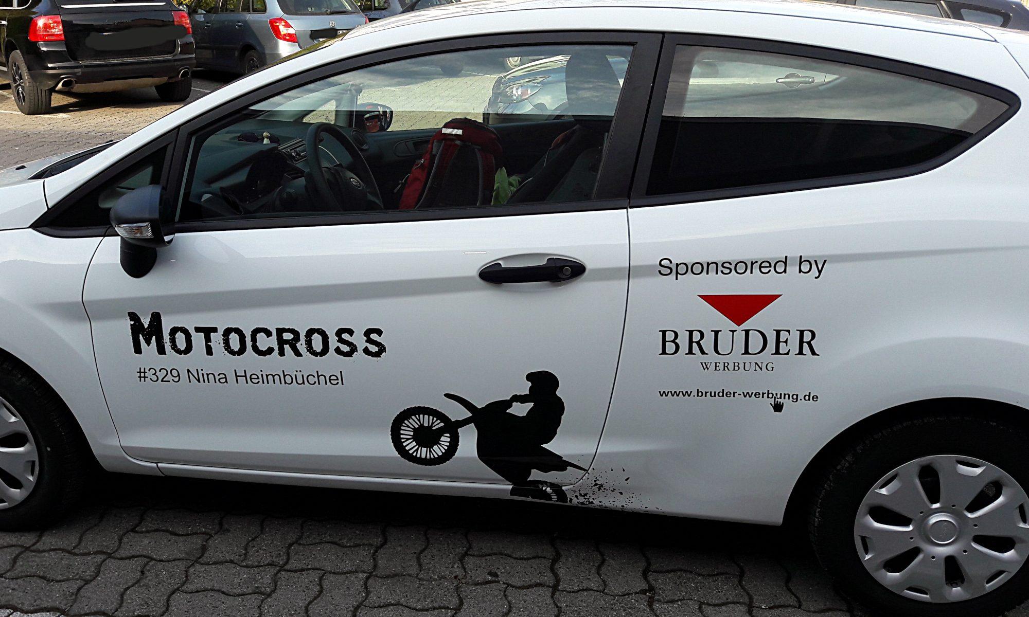 Finanzielle Faktoren und Sponsorensuche - Nina Heimbüchel - Motocross-Adventskalender - miradlo Versanddepot