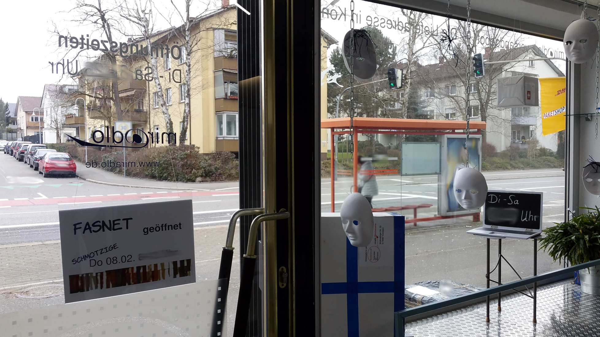Fasnet - am Schmotzige ab 12 Uhr geschlossen - miradlo Versanddepot - Konstanz