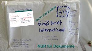 Schweiz schicken in die brief Geld versenden