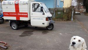Piaggio APE TM 703 Kasten zu verkaufen, Apelina, liebevoll Linchen genannt, Baujahr 2015, 2019